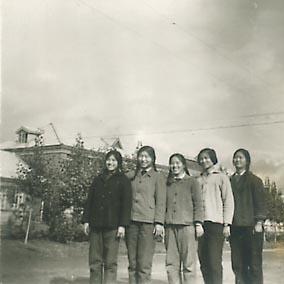 服务社老相片---我们在向阳大道上-16团知青老照片图片